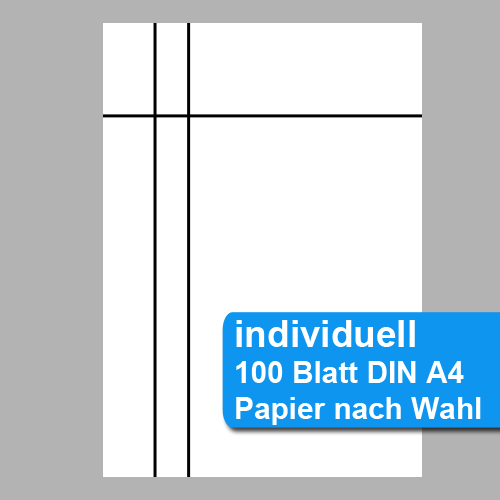 individuell perforiertes Papier