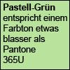 Pastellfarbe Grün