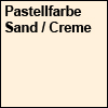 Pastellfarbe Sand bzw. Creme