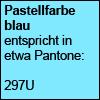 Pastellfarbe blau