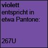 viloett - Pantone 267U